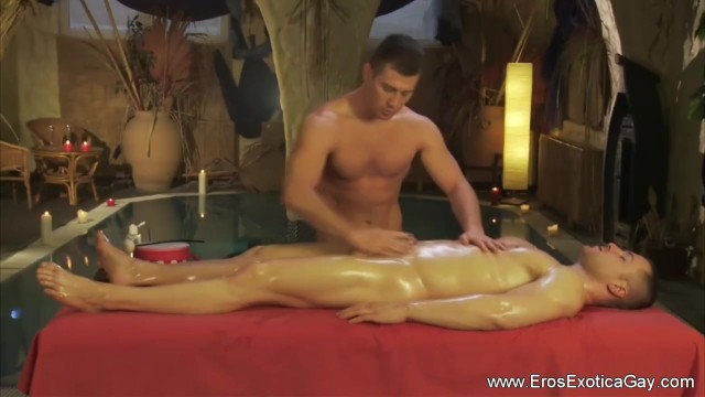 The health of gay couples Penis massage for your health