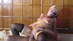 PAWG MOM GETS FUCKED IN BOTH HOLES WHILE HUSBANDS AWAY