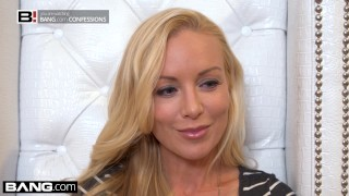 BANG Confessions Kayden Kross sexy lap dance leads to ass fucking Lingerie tits