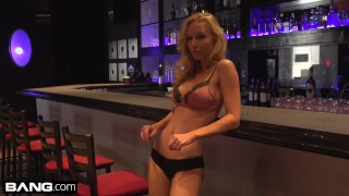 BANG Confessions Kayden Kross sexy lap dance leads to ass fucking Tits curves