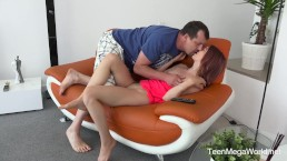 Old-n-Young.com - Tera Link - Cute Redhead is Fucked By Her Stepfather