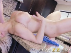 Blonde Busty Milf Wants Her Daughter's Boyfriend's Cock - Brazzers