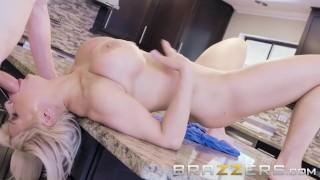 Blonde Busty Milf Wants Her Daughter's Boyfriend's Cock - Brazzers