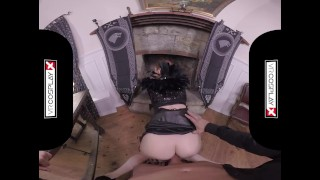 POV Wild Anal Sex With Eva Berger As Sansa On VRCosplayX.com porno