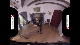 POV Wild Anal Sex With Eva Berger As Sansa On VRCosplayX.com