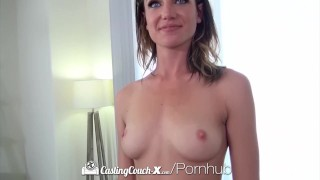 Brunette facial and ariel hazel castingcouch winters fuck x eyed sucking facial
