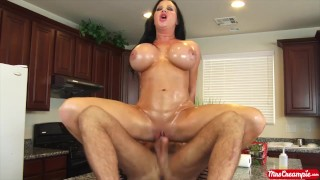 Big tits MILF Sybil Stallone wants cum shot up in her pussy Mrs. Creampie