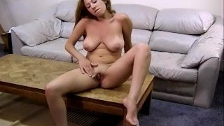 Boobie Brunette Masturbation Technique