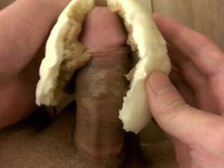 【Compilation】Japanese guy masturbation with food