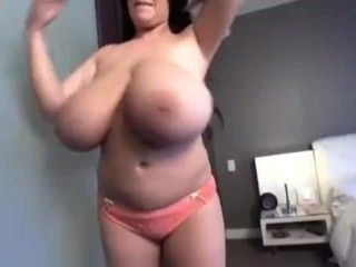 Pink bra panties