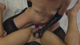 Girl fucks guy with a strapon - my new strapless dildo ( femdom, pegging ) Reverse ass