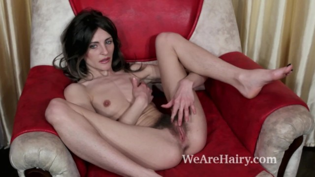 Margarita we are hairy - Olivia arden fingers her pussy while masturbating
