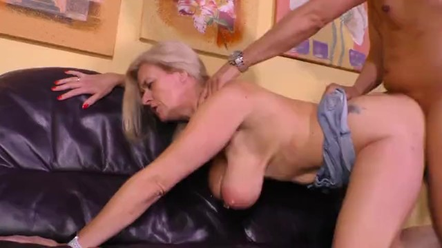 Graney cunt tit Casting a filthy german granny