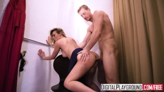 DigitalPlayground - Zip Me Up, Teen gets fucked in the changing room