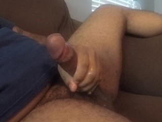 "Masturbating On My Couch ""CUMSHOT"""
