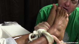 Mikey Tied Up and Worshiped