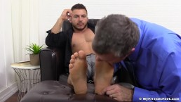 Michael Fitt Dominates with His Socks and Gorgeous Feet