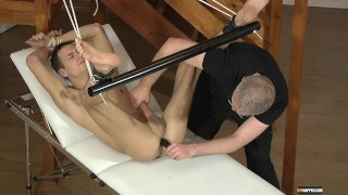 Luke Gets His Big Cock Shaved