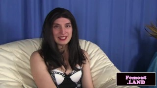 Hidden pleasures crossdressing ts enjoying jerking interview