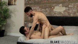 Naughty bum buddies Sam Wallis and Jack Green have anal sex