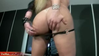 Chubby shebabe in black lingerie shows giant butt and boobs Hairy hairy