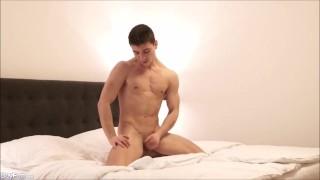 Hot Muscle Andrew Green Solo Masturbation Cumshot masturbation