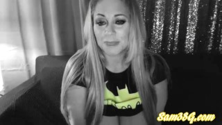 Samantha 38g part 2 Cosplay as BatWoman live cam show Tits big