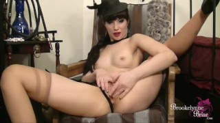 JOI Brookelynne Briar Talks Dirty To You As She Plays With Her Pussy