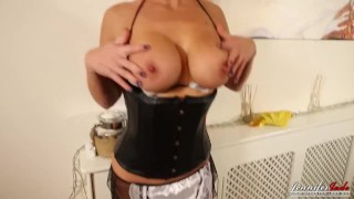 As jennifer maid milf a british strip jade sexy kink english