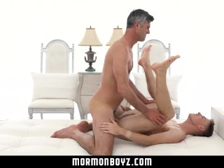 mormonboyz – Handsome cult leader fucks quiet submissive boy