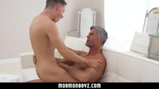Quiet handsome submissive fucks cult leader mormonboyz boy style daddy