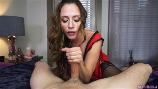 Milf cock insatiable inhales hard rockwell colombian