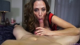 Insatiable MILF inhales hard cock Reverse hard