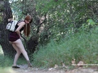 Spandex Comfortable Dildo Shorts Fucking, Schoolgirl Cant Hold It Pornstar Verified Models