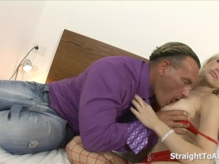 Stacy Silver's Anniversary Anal Treat