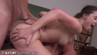 21Sextury Swallowing Schoolgirl DP After Class Busty high