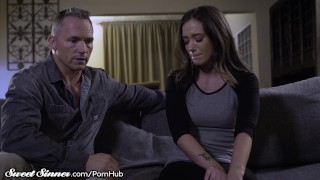 SweetSinner Gia Paige is Hungry for Her Step Fathers Cock