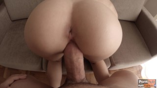 One to creamy celebrate creampie million views quickie morning with big handjob
