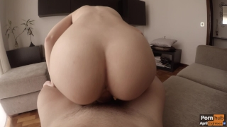 Morning creamy quickie to celebrate one million views ♡ (WITH CREAMPIE!) Butt big