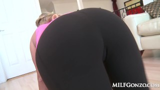 MILFGonzo Sexy milf Alana Luv fucking a meaty cock Cams transexual