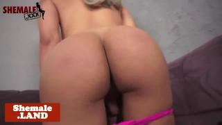 Bigass trans beauty jerksoff and spreads ass Softcore blonde
