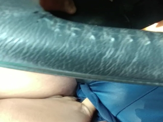 Preview 4 of Masturbating in a Parking Lot During Lunch