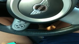 Preview 1 of Masturbating in a Parking Lot During Lunch
