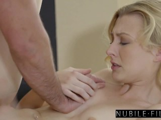 NubileFilms – Roasting hot Pound With Magnificent Blonde