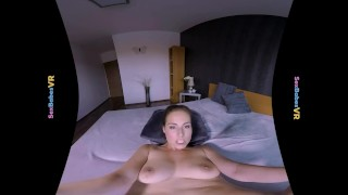 SexBabesVR - Virtual Girl Fucked with horny Antonia Sainz Maturereality pov