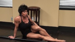 Fitness Redhead Chick Tramples FBB Martial Artist Expert