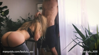 Fit Teen Fucked By Big Dick - Amateur couple LeoLulu Pie men