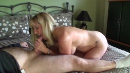 Mature Petite Blonde Gets A Mouthful Of Cheating Ponhub Cock!