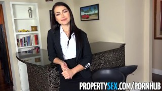 Preview 1 of PropertySex - Real estate agent accepts homebuyer's big offer