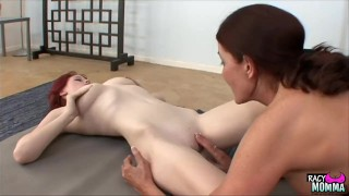 Milf sixty nines with step daughter